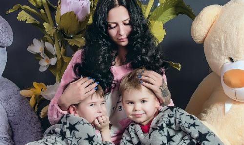 мама двоих детей