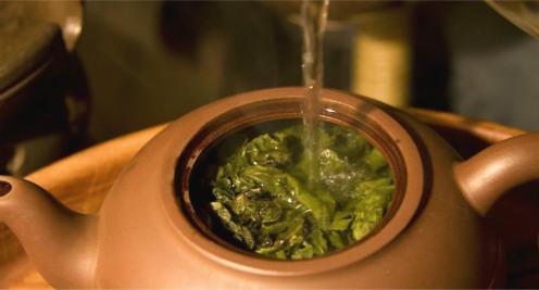 чайник с травами