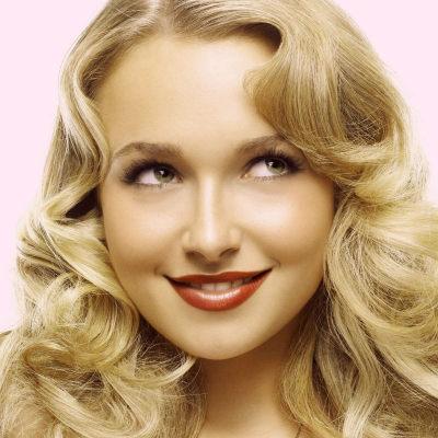 кудрявая блонди
