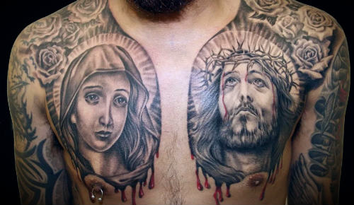 Религиозная тату