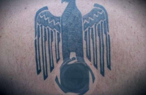 нацистская татуировка