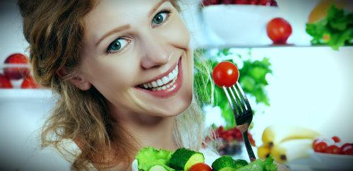 радость от полезной еды