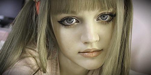 кукла русые волосы