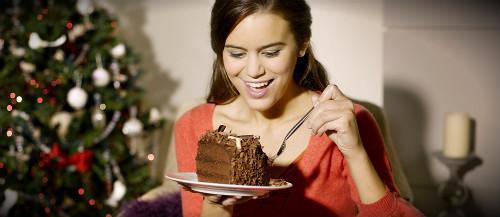 есть новогодний торт