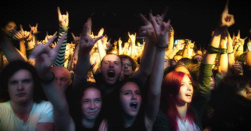 толпа на концерте
