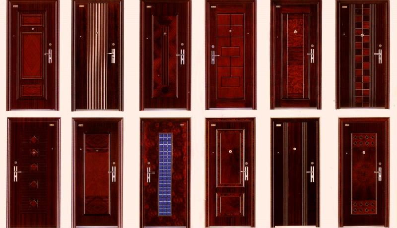 многообразие металлических дверей