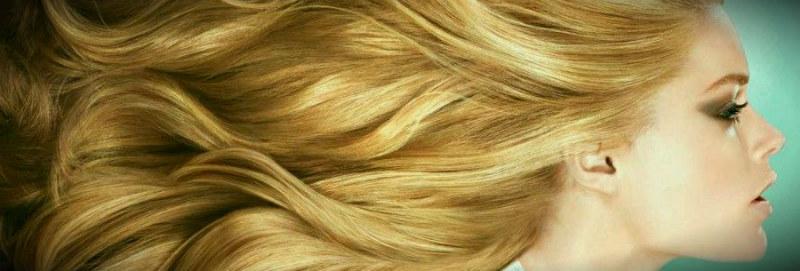 длинные светлые окрашенные волосы