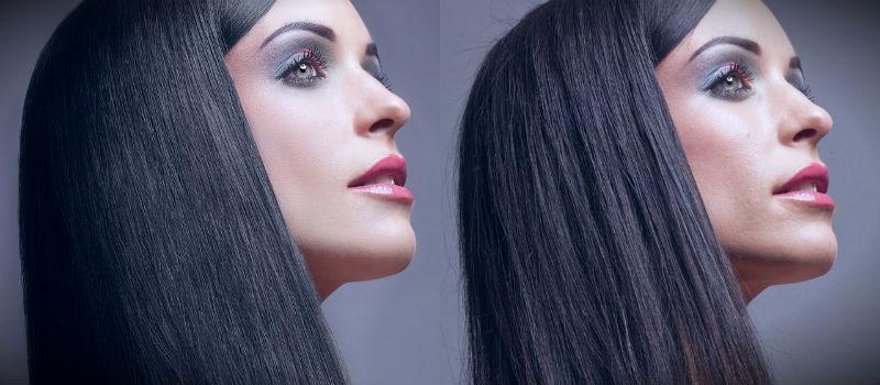 результаты ухода за окрашенными волосами