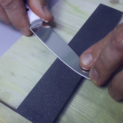 как самому заточить нож